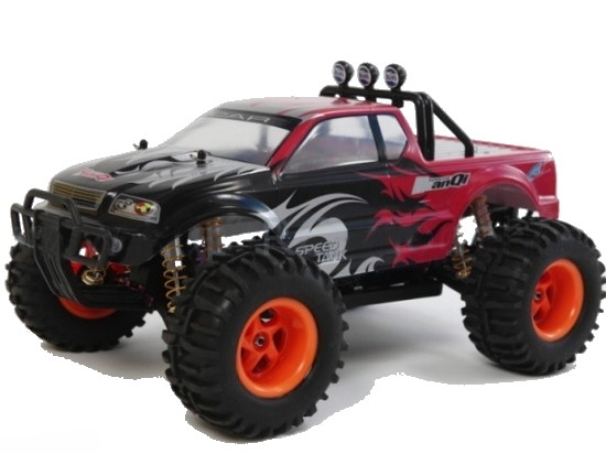 Monster truck 722  RTR, RC auto, Huan Qi, 4WD