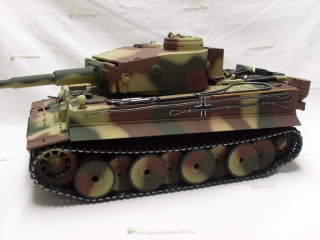 Tank Rc-German Tiger 1