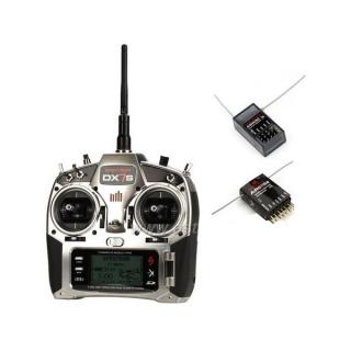 DX7S DSMX Spektrum Air - Heli AR8000,AR6115E,AR400